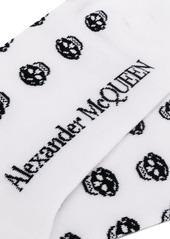 Alexander McQueen multi skull socks