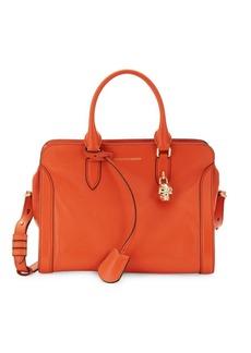 Alexander McQueen Nicole Leather Shoulder Bag