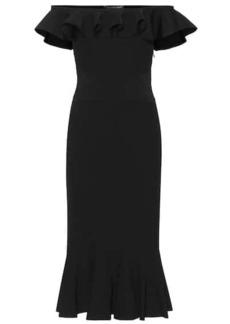 Alexander McQueen Off-the-shoulder dress