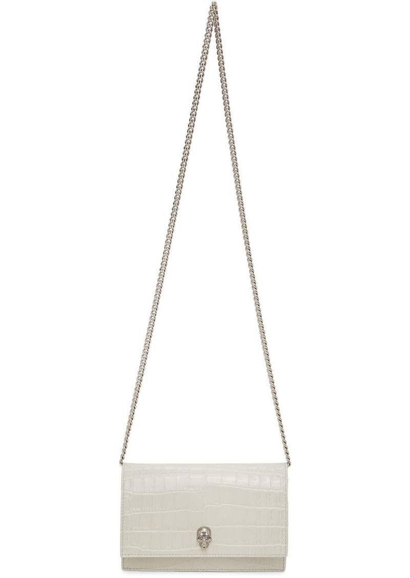 Alexander McQueen Off-White Mini Skull Bag