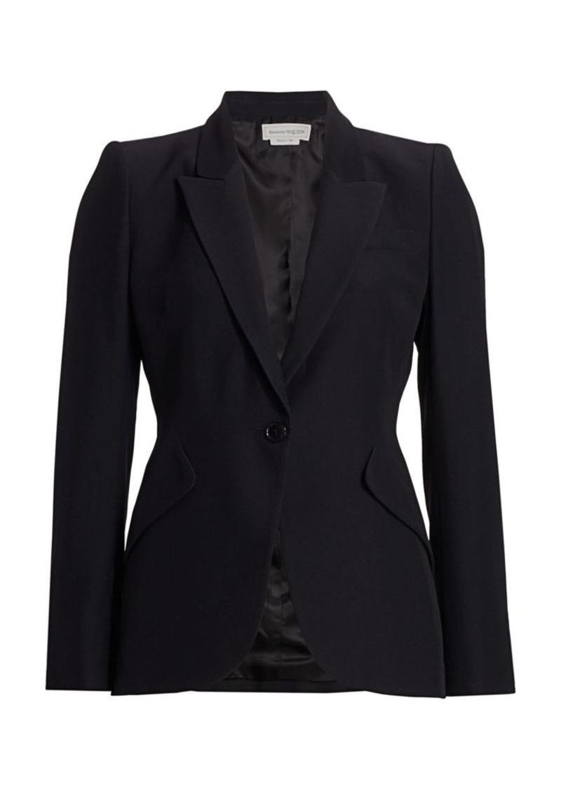 Alexander McQueen One-Button Jacket