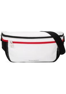 Alexander McQueen oversized double zip belt bag
