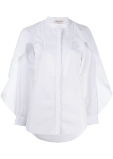 Alexander McQueen oversized frill shirt