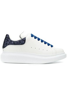 Alexander McQueen Oversized glitter-effect sneakers