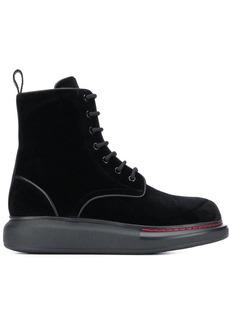 Alexander McQueen Oversized sole boots