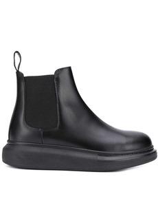 Alexander McQueen oversized sole Chelsea boots