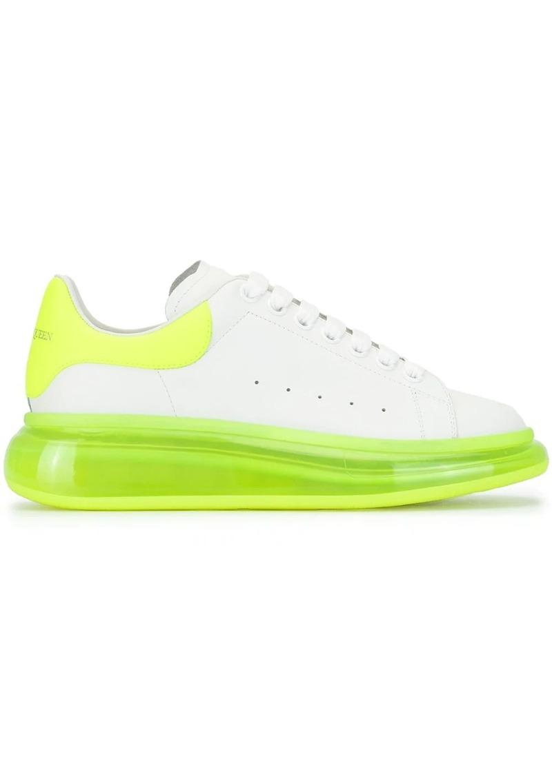 Alexander McQueen oversized two-tone sneakers