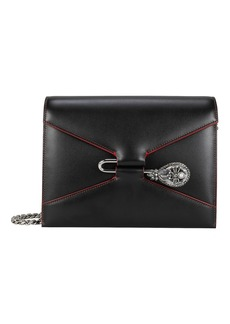 Alexander McQueen Pin Jewel Chain Strap Shoulder Bag