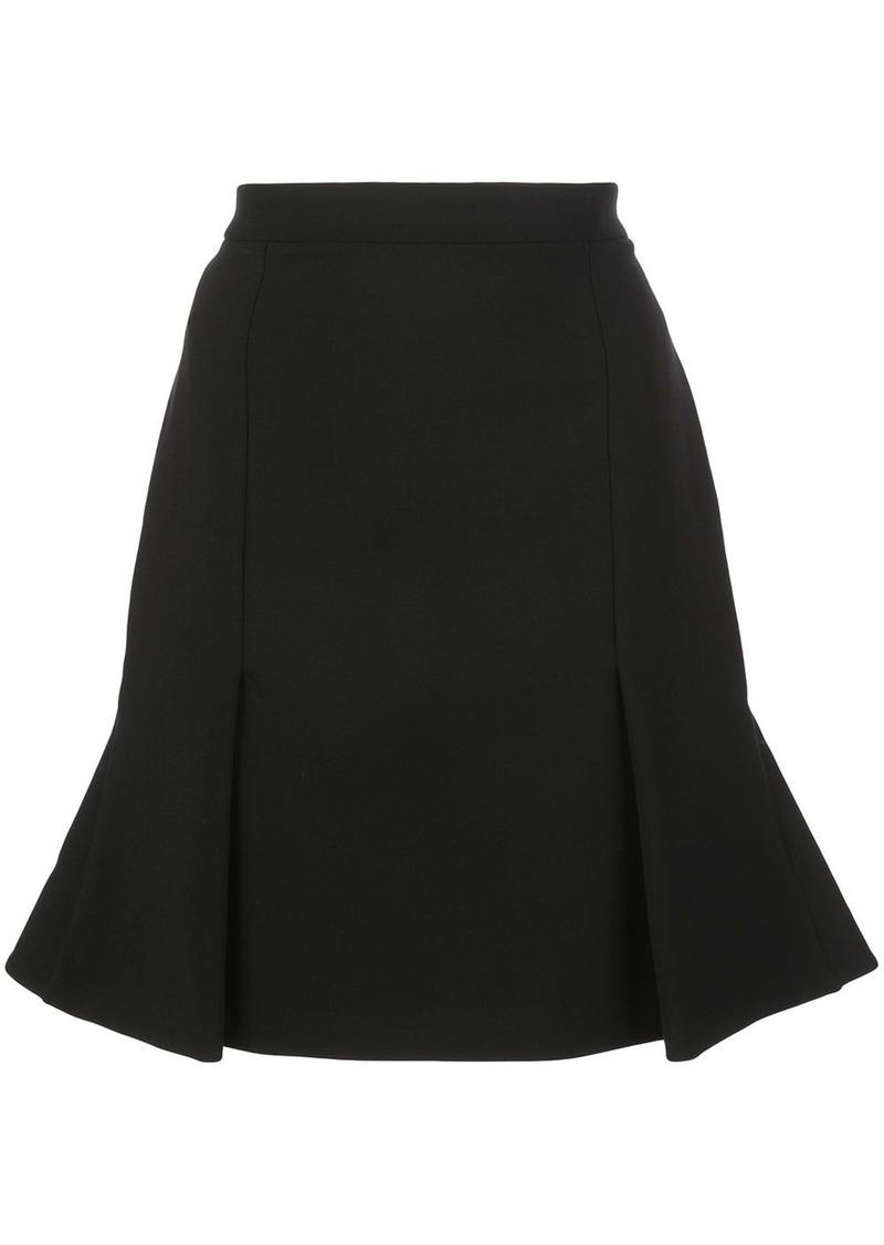 Alexander McQueen pleated short skirt