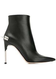 Alexander McQueen punk stud ankle boots