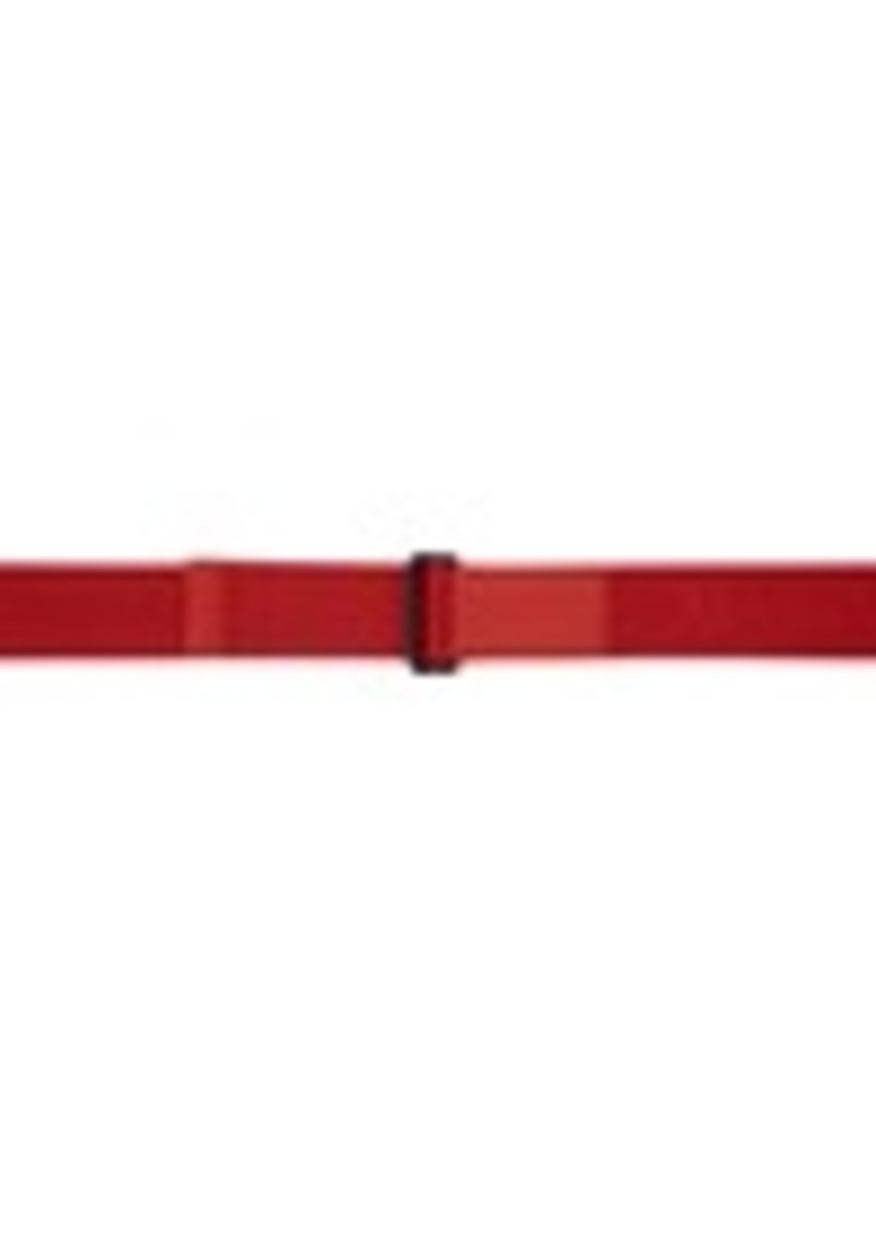 Alexander McQueen Red Webbing D-Ring Belt