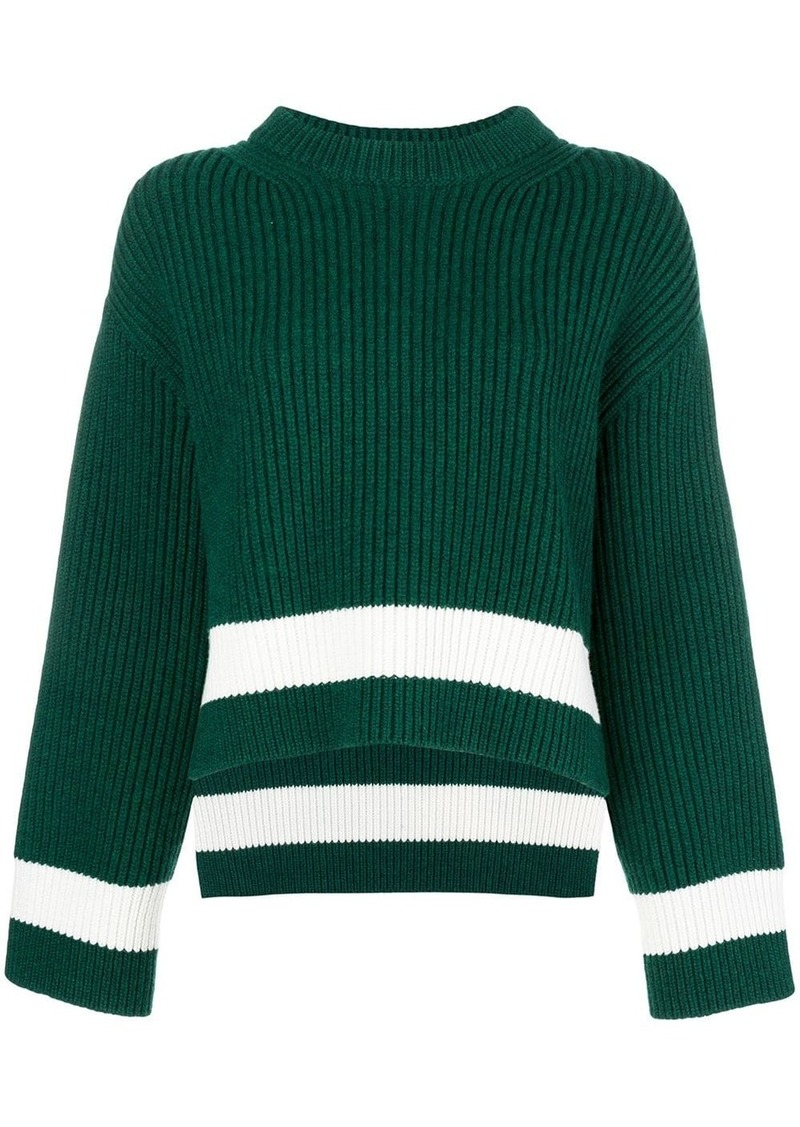 Alexander McQueen ribbed knit jumper