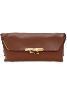 Alexander McQueen Ring Soft Leather Clutch