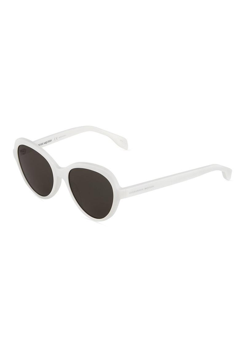 3df1c9d393a7 SALE! Alexander McQueen Round Solid Sunglasses