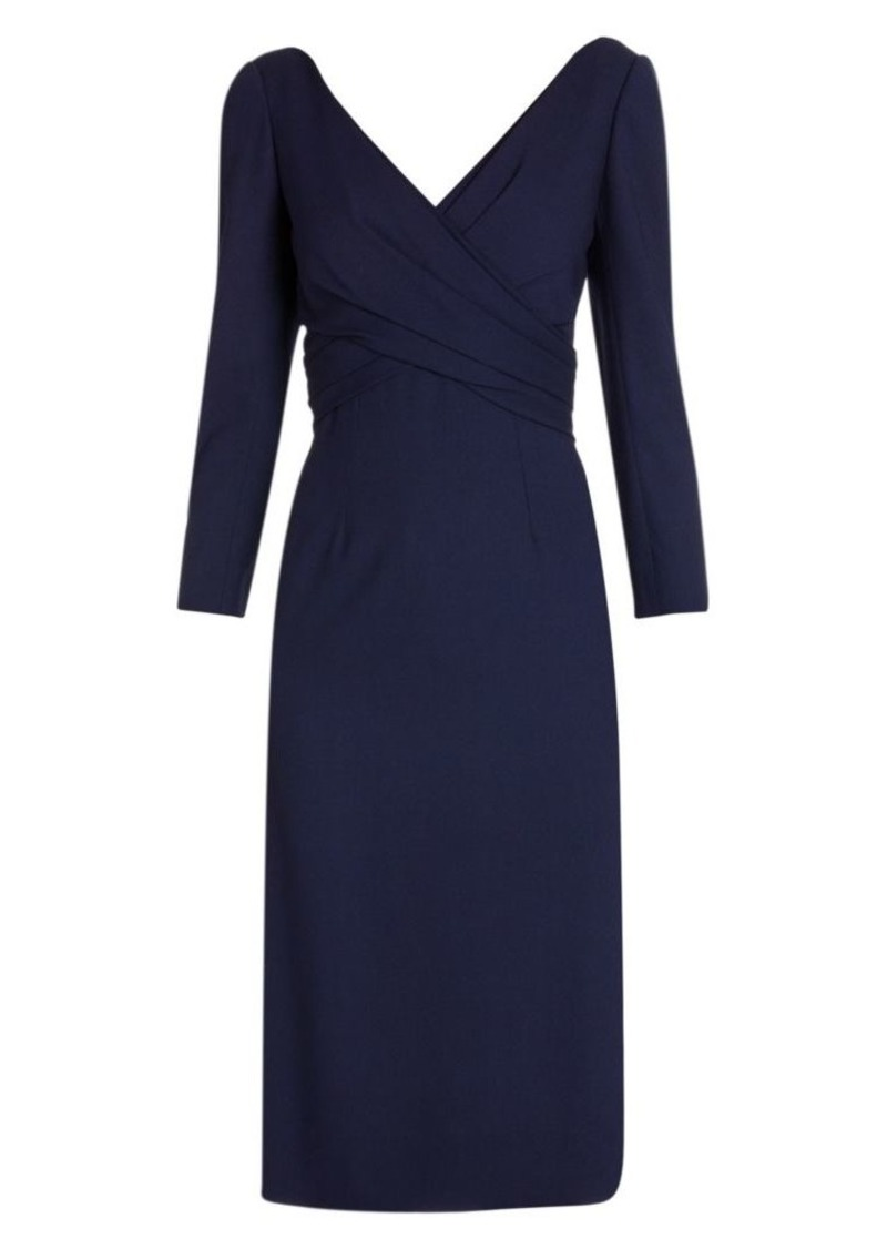 Alexander McQueen Gathered Pencil Dress
