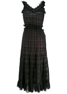 Alexander McQueen ruched midi dress