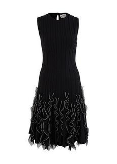 Alexander McQueen Ruffle dress