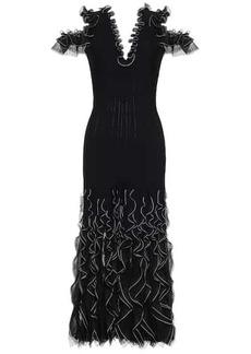 Alexander McQueen Ruffled maxi dress