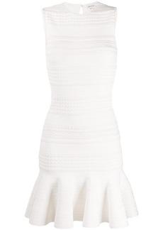 Alexander McQueen scalloped knitted dress