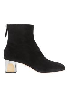 Alexander McQueen Sculpted Heel Ankle Boots