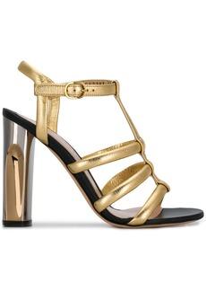 Alexander McQueen sculpted heel sandals