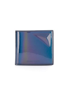 Alexander McQueen shiny finish wallet