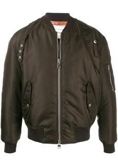 Alexander McQueen short zipped bomber jacket