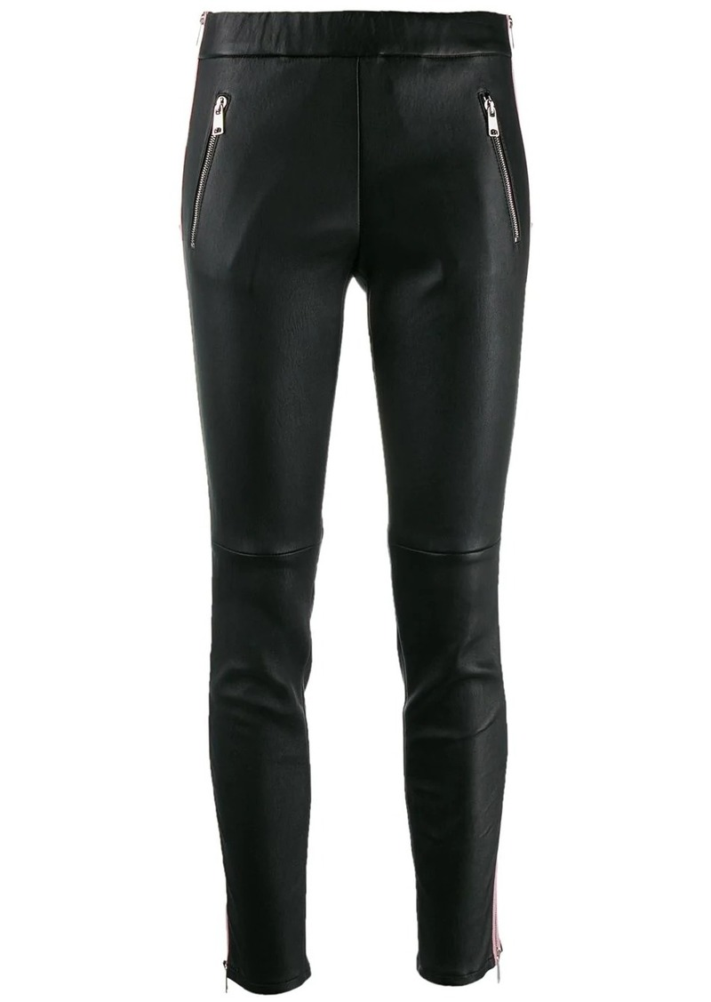 Alexander McQueen side stripe leggings
