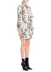 Alexander McQueen Silk Shell Scarf Dress