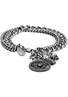 Alexander McQueen Silver Beetle Bracelet