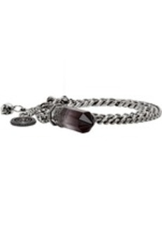 Alexander McQueen Silver Small Shaded Quartz Bracelet