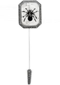 Alexander McQueen Silver Spider Lapel Pin
