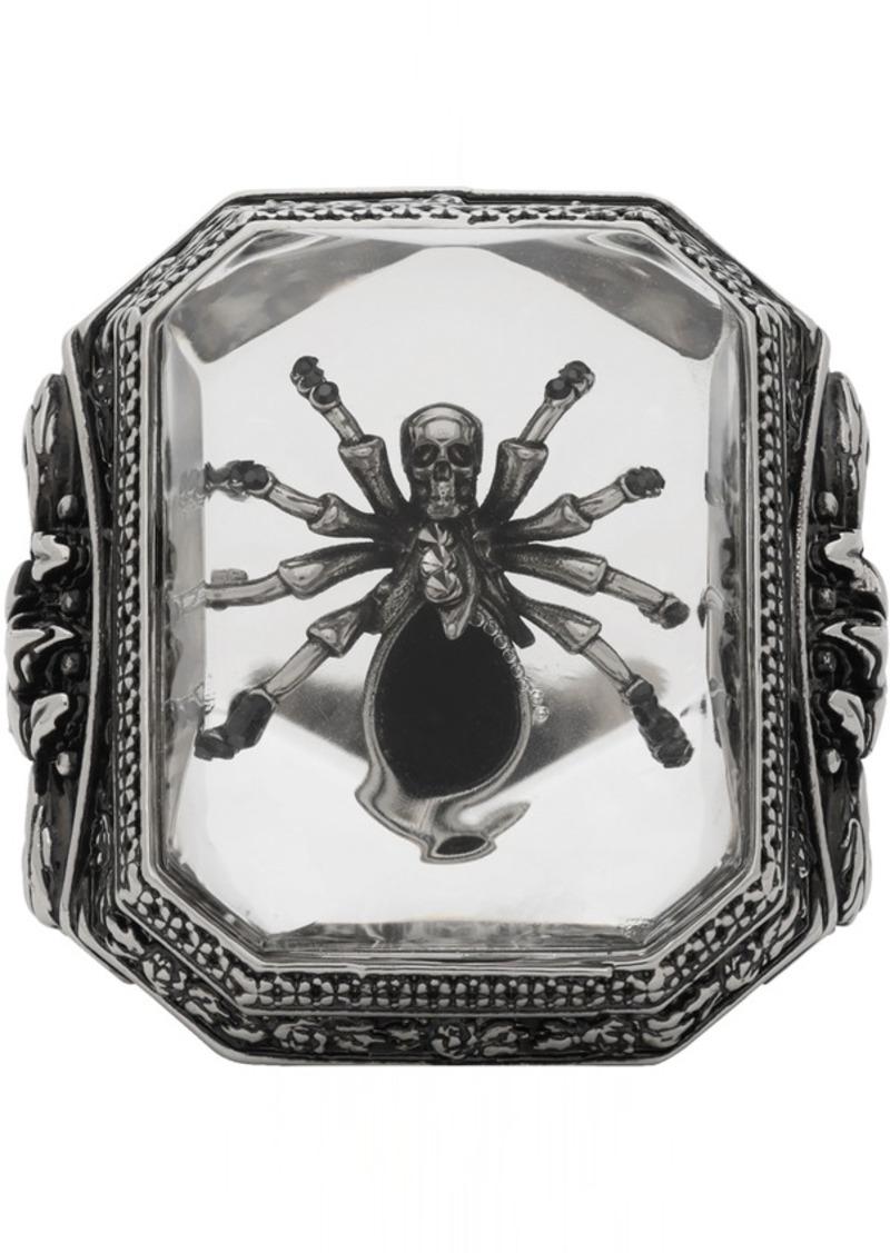 Alexander McQueen Silver Spider Ring