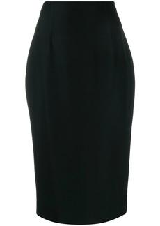Alexander McQueen skinny fit pencil skirt