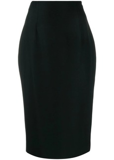 Alexander McQueen skinny fit pencil skirt