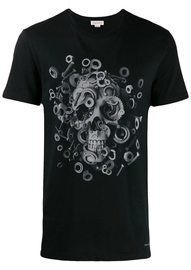 Alexander McQueen skull and screws print T-shirt