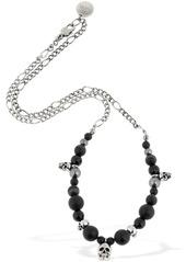 Alexander McQueen Skull Beads Necklace