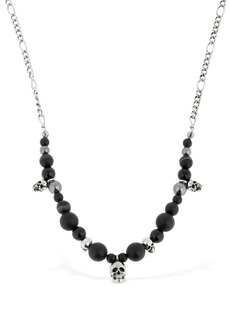 Alexander McQueen Skull Beads Necklace