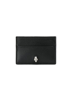 Alexander McQueen skull charm card holder