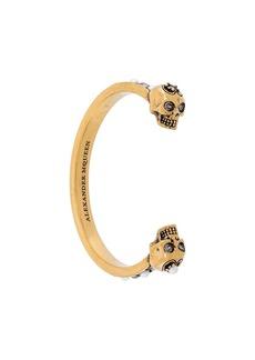 Alexander McQueen skull cuff bracelet