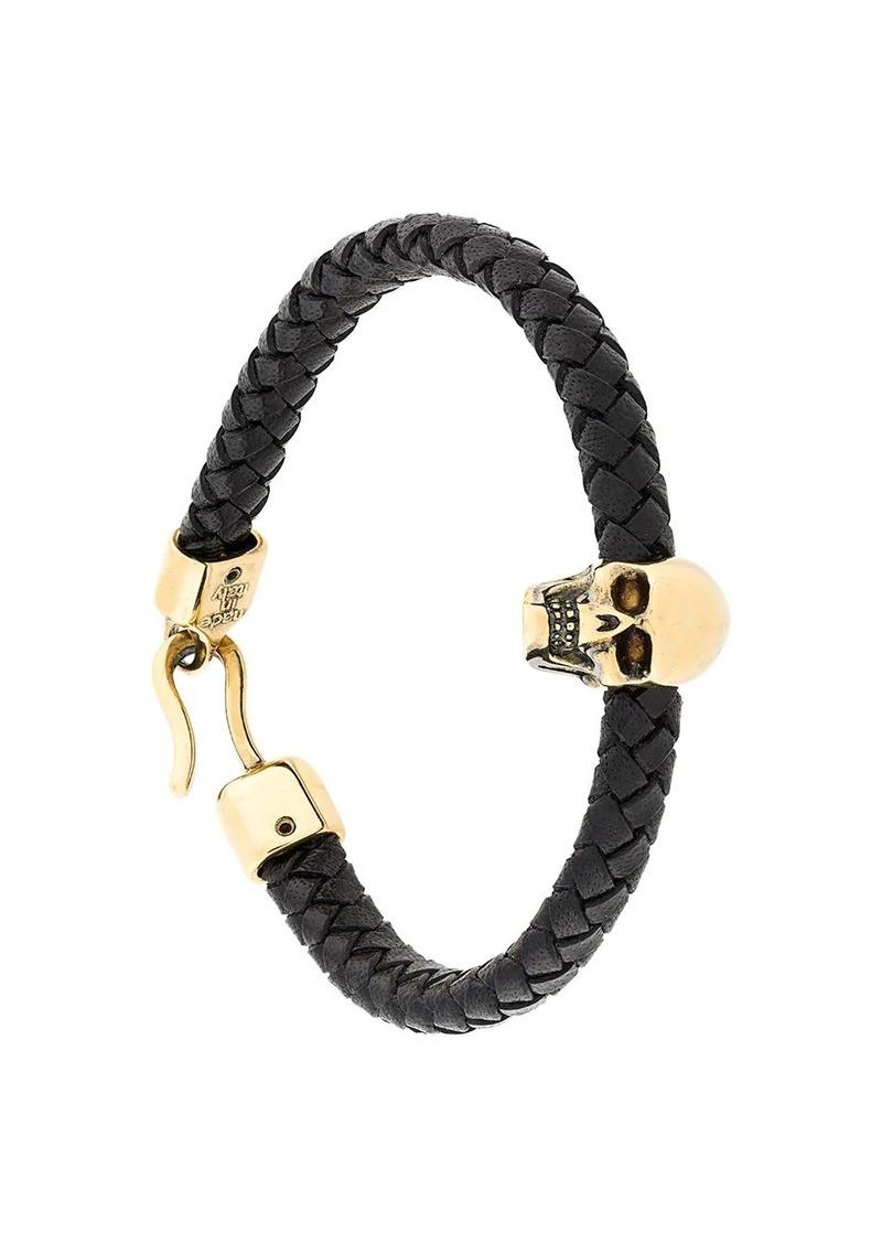 Alexander McQueen skull embellished bracelet