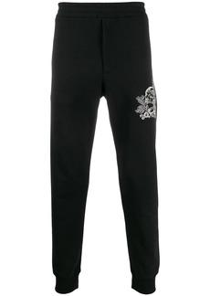 Alexander McQueen Skull embroidery track pants