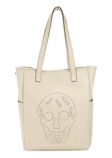 Alexander McQueen Skull Leather Shopper