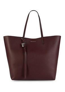 Alexander McQueen Skull Leather Shopper Bag