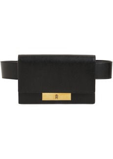 Alexander McQueen Skull Lock Leather Belt Bag