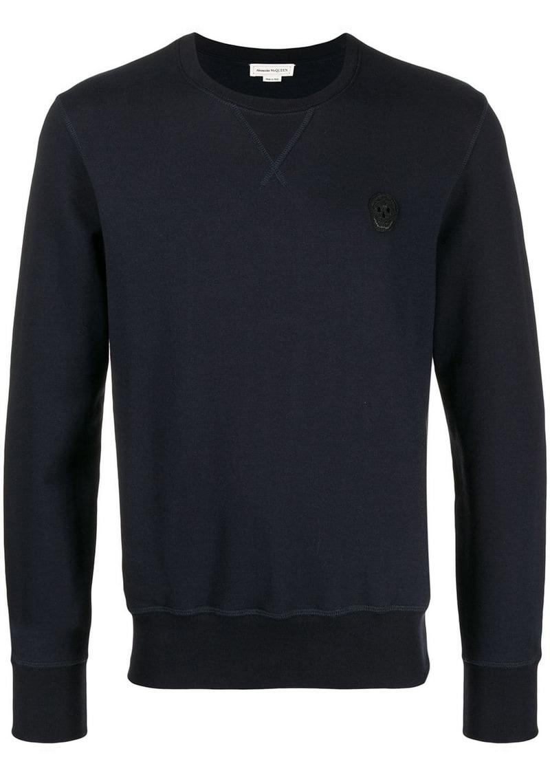 Alexander McQueen Skull logo sweatshirt