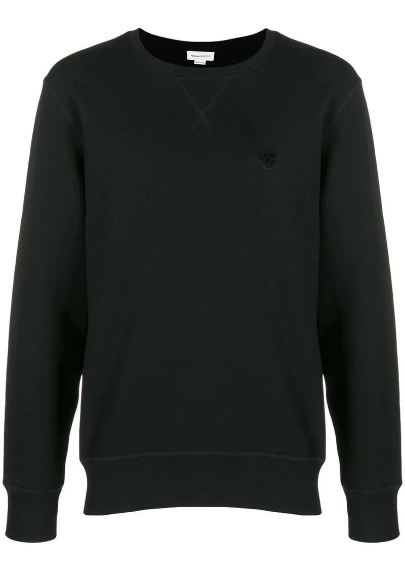 Alexander McQueen skull patch sweatshirt