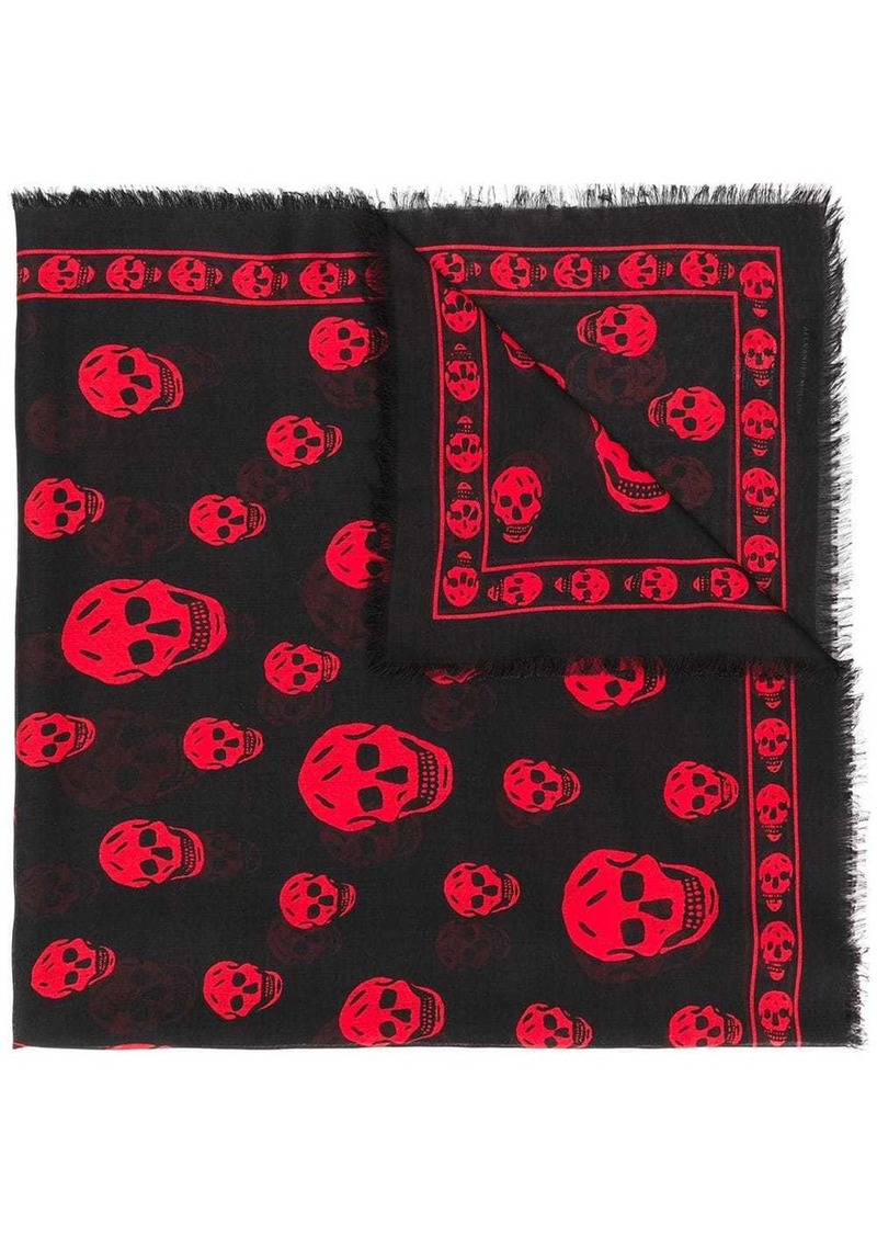 Alexander McQueen Skull scarf