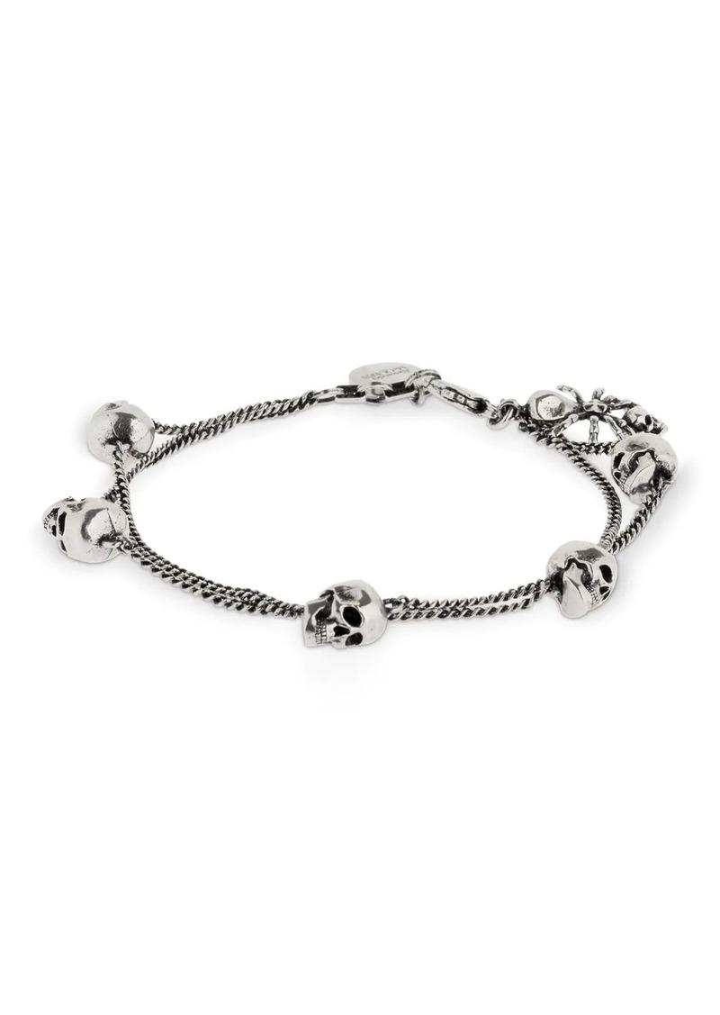 Alexander McQueen Skull Spider Bracelet