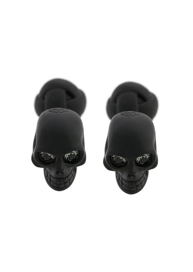 Alexander McQueen skull studded cufflinks